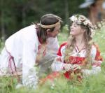 Свадьба в славянских традициях