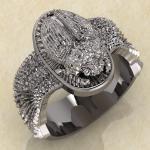 Кольцо со скарабеем