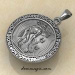 Древнегреческий амулет Прогностикон серебро