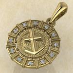 Стрелец золото с бриллиантами