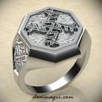 кольцо с денежной свастикой