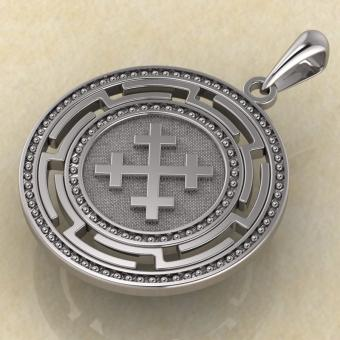 Символ Богини Мары из серебра
