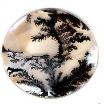 Агат моховый