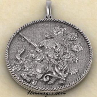Бог Уд серебро