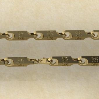 Славянская Цепь символ Рода золото