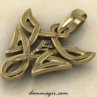 Феху в вязи золото