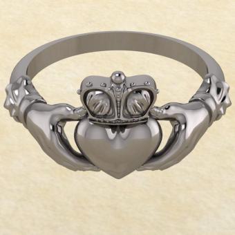 Кладдахское кольцо из серебра