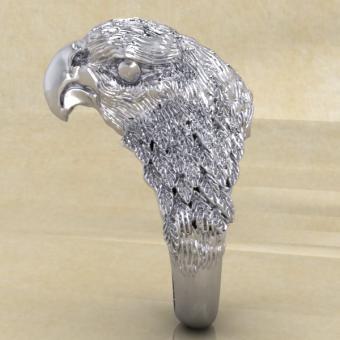Славянское кольцо с соколом