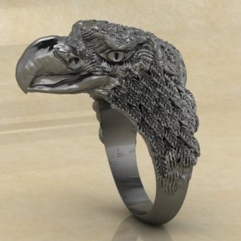 Славянское кольцо с Орлом