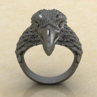 Древнеславянское кольцо с Орлом
