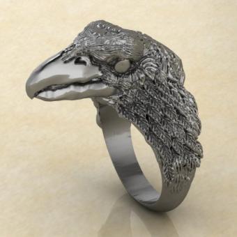 Славянское кольцо Ворон