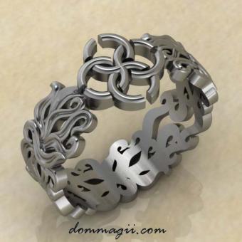 """Кольцо """"Чувственность и изобилие"""" серебро"""