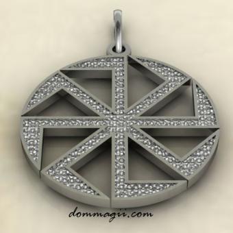 Коловрат - посолонь серебро
