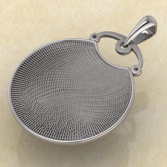 Подвеска Грифон из серебра