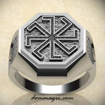 Обережное кольцо Колядник