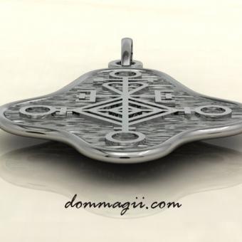 Любовный амулет из серебра