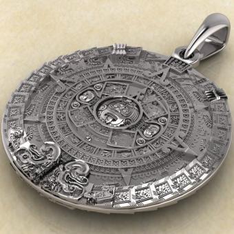 Кулон «Календарь Майя»