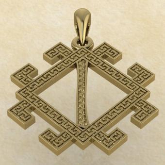 руна Исток золото