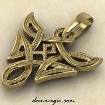 Одал в вязи золото