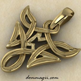 Перт в вязи золото