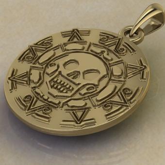 Подвеска Золото Ацтеков
