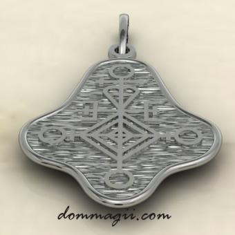 Приворотный талисман серебро
