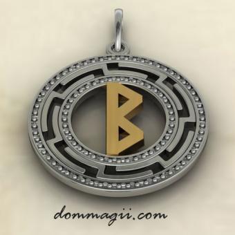 Беркана серебро с золотом