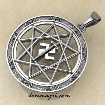 Символ Расы серебро