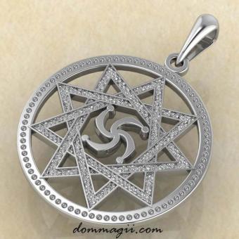 Символ Рода в Инглии из серебра от мастерской Брокка