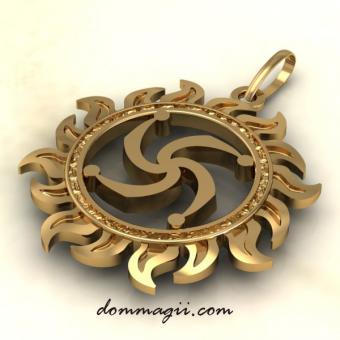 Символ Рода золото
