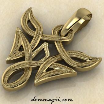 Уруз в вязи золото