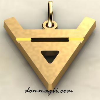 Символ бога Велеса золото