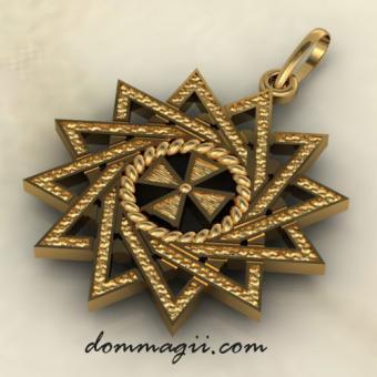 Звезда Эрцгаммы золото
