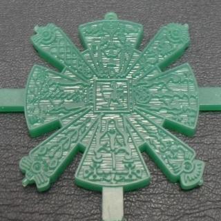 Восковка из зеленого воска