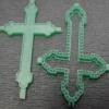 крест со вставкой восковка